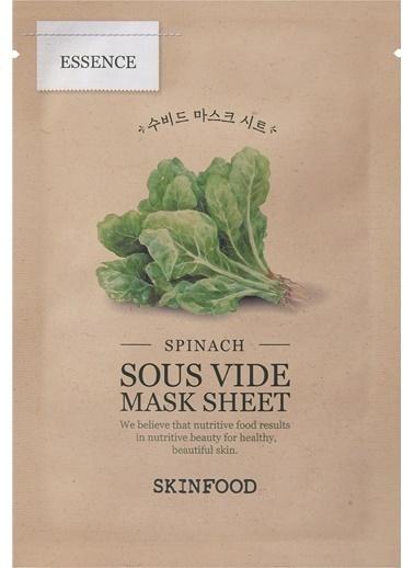 Skinfood Spinach Sous Vide Mask Sheet Renksiz